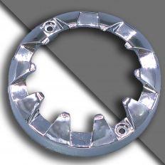 E14 decorative chrome ring big 80mm