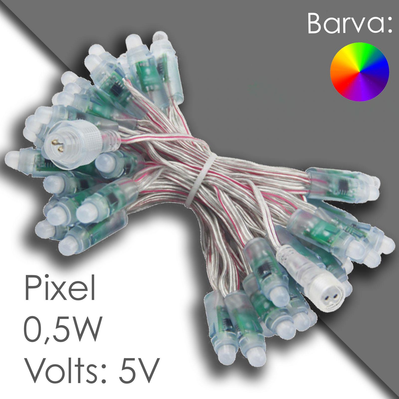 Led pixel rgb 12mm programmable, waterproof