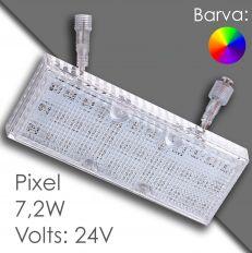 Led pixel rgb 150mm programmable, waterproof