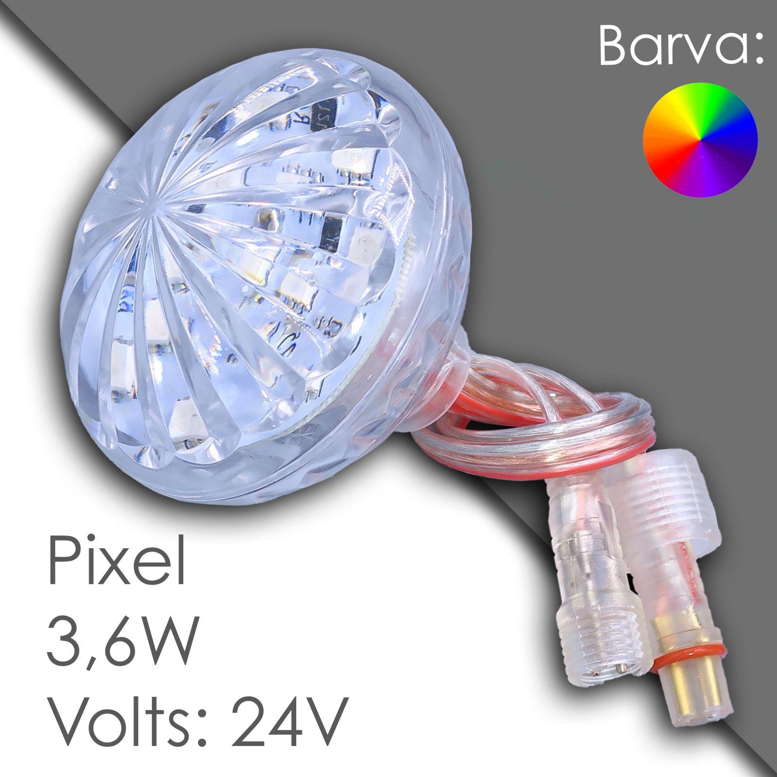 Led pixel rgb 60mm programmable, waterproof