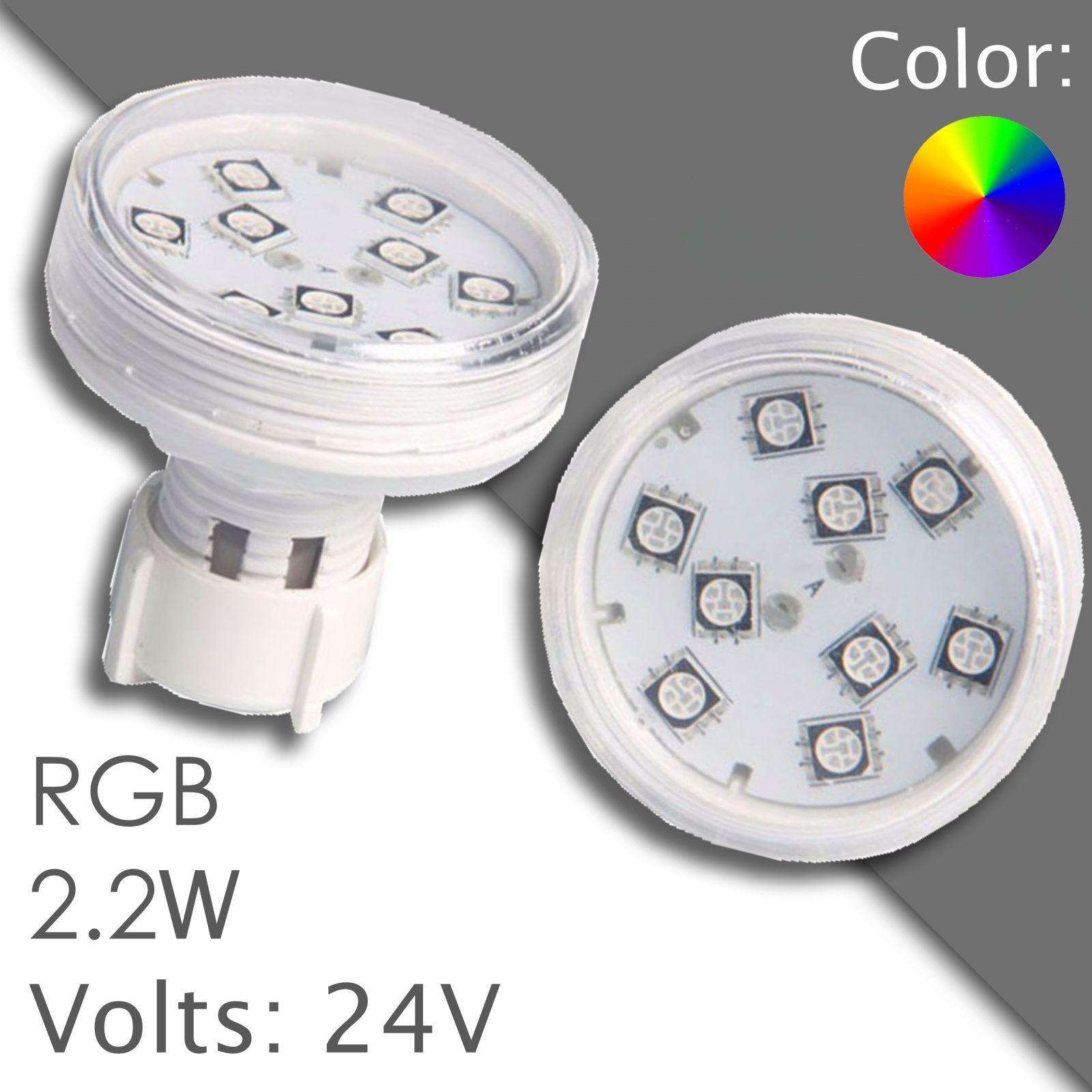 Led RGB 45/60mm automatic, waterproof