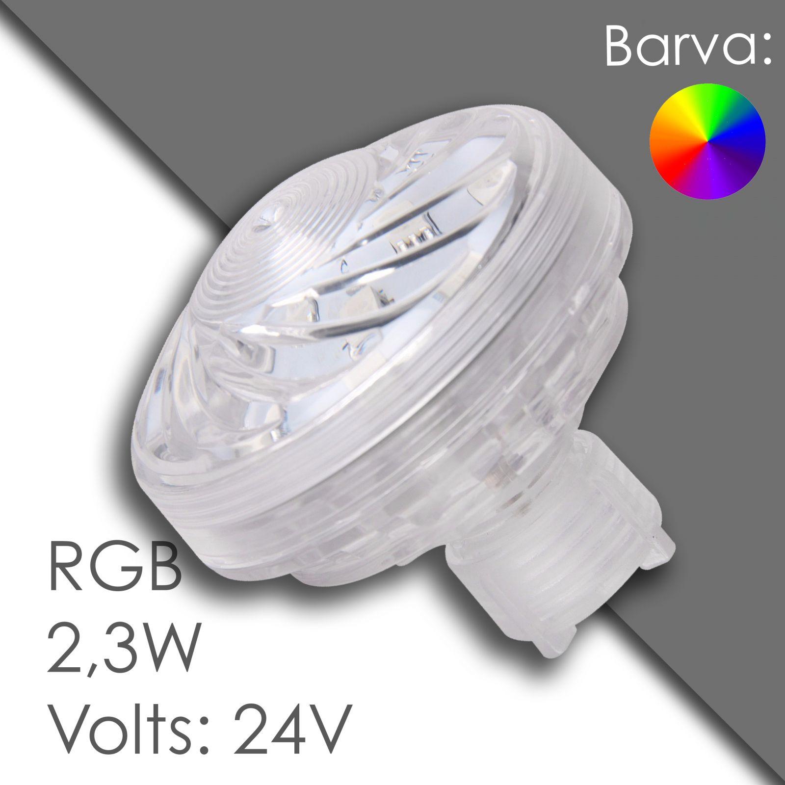 Led RGB 45mm automatic, waterproof