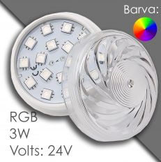 Led RGB 60mm AC 24V, automatic