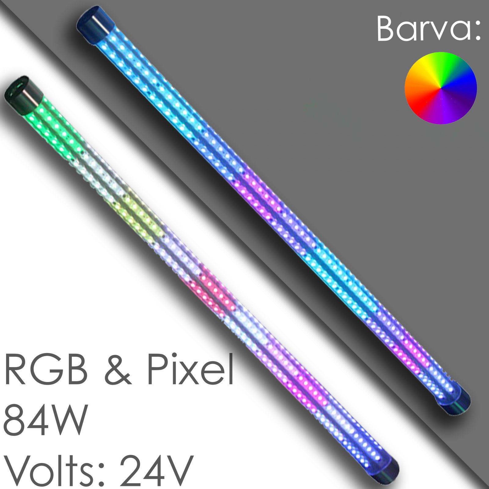 Led tube bumper cars - RGB / Pixel, waterproof